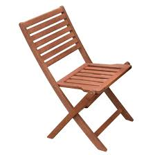 Bolero Wooden Folding Side Chair (Pack Of 2)