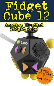 WONKA 12 SIDED FIDGET CUBE Posted By Amy Cool On Aug 09 2017 THE