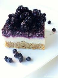 DAMY Members – 1 Serving of Raw Blueberry Cheesecake is a wonderful treat option