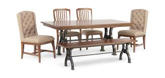 Arlington House Trestle Table With 2 Upholstered Host Chairs 2 Side Chairs  And Bench Modern Rustic 5piece Counter Height Ding Set Table With Storage Shelves Arlington House Trestle With 2 Upholstered Host Chairs Side And Bench Slat Back All Noble Patio Round Wicker Outdoor Multibrown Details About Delacora Webd48wai 5 Piece Steel Framed Barnwood Conference Room Tables 10 Styles To Choose From Ubiq Imagio Home 3piece Drop Leaf Black Leg 4 Best Spring Brunches Argos Tribeca Oak Two Farmhouse Pine Action Charcoal Liberty Fniture Industries Spindle Chair Of
