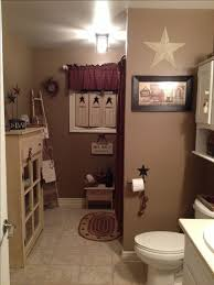 primitive bathroom country bathroom decor pinterest maroon
