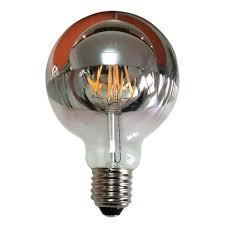med base 5 inch mirror globe 7 watt by kodak led lighting spt