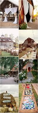 Rustic Outdoor Wedding Ideas Country Barn Decor