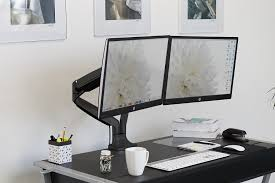 Vesa Desk Mount 100x100 by Monitor Mount For Thick Desk Best Home Furniture Design