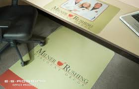 Es Robbins Everlife Chair Mat by Custom Printed Signature Series Chair Mats And Deskpads Es