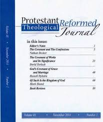 November 2014 Confessions Of A by P R Theological Journal Index