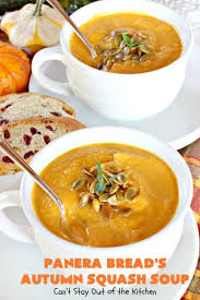 Panera Pumpkin Muffin Ingredients by Panera Bread U0027s Autumn Squash Soup Can U0027t Stay Out Of The Kitchen