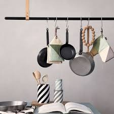 tringle de cuisine clothe rack tringle a suspension ferm living barre