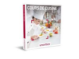 smartbox cours de cuisine coffret cadeau cours de cuisine smartbox