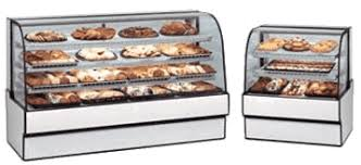 Federal Industries CGD3148 Curved Glass Non Refrigerated Bakery Case
