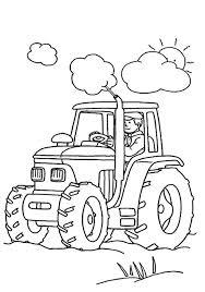 Coloriage De Tracteur Tom Study42org