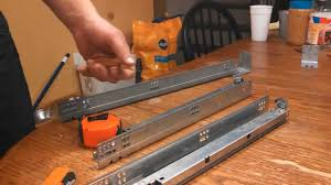 Slow Close Cabinet Hinges by How To Install Soft Close Drawer Slides Youtube