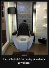 herrn toilette so richtig zum daran gewöhnen lustige