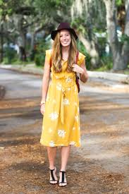 mustard yellow midi dress for fall katie u0027s kronicles a florida