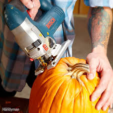 Electric Pumpkin Carving Tools by Pumpkin Carving With Power Tools Family Handyman