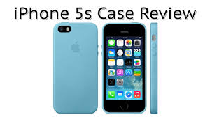 Apple iPhone 5 5S Case Review Blue