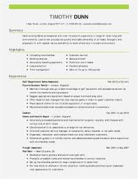 Profile Resume Examples Fresh Free Assistance 2018 Entry Level Sorority Of