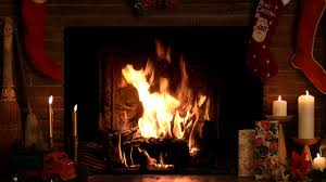4 Hours Christmas Yule Log Fireplace with Crackling Fire Sounds