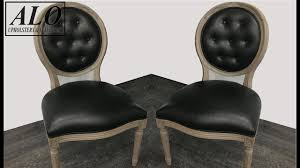 DIY - HOW TO REUPHOLSTER A DINING ROOM CHAIR WITH BUTTONS - ALO Upholstery Wayfair Black Friday 2018 Best Deals On Living Room Fniture Tag Archived Of Upholstered Parsons Ding Chairs 88 Off Carved Cherry Wood Set With Leather Tables Marvelous Diy Tufted Restoration White Genuine Kitchen Youll Love In 2019 Chair New Upholstery Shop Indonesia Classic Lion With Buy Fnitureclassic Ftureding Natural Lisette Of 2 By World 4x Grey Ding Jovita Faux A Affordable Italian Renaissance 1900 Antique 6