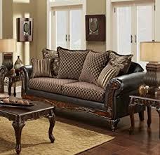 Amazon Chelsea Home Furniture Amelia Sofa Sienna Brown Bi