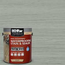 behr premium 1 gal st 149 light lead semi transparent