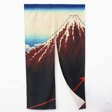 gardinen vorhänge japanischer druck tür vorhang fisch