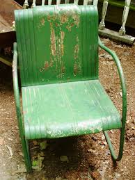 green metal patio chairs how to tell if metal furniture and decor is worth refinishing diy