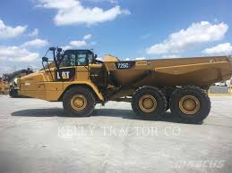 100 Dump Truck Tailgate Caterpillar 725c2 Articulated ADT Year Of