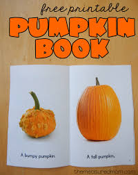 Books About Pumpkins Preschool by Free Printable Pumpkin Book The Measured Mom