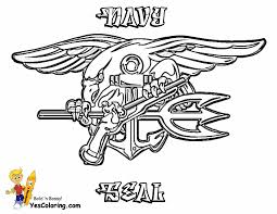 Full Size Of Coloring Pagenavy Pages Navy 01 Seal Emblem At
