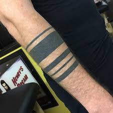 Black Armbands 2 Years Healed