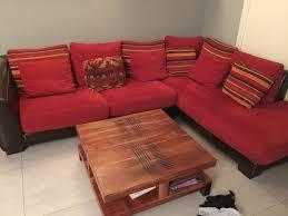 canap d angle bois et chiffon canapé en offres mai clasf maison jardin