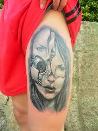 Diego Alejandro Tattoos Cyborg