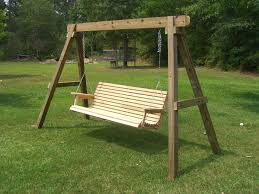 Light Wood Free Wooden Swing Frame Plans — Jbeedesigns Outdoor