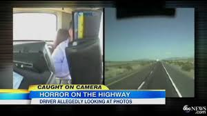 Dashcam Video: Truck Driver Allegedly Looking At Phone At Time Of ... Woman Truck Driver Looking Out The Door Of A Big Rig From Stock Driver Shortage In Industry Baku Experience Life Trucker Truck On Xbox One Looking In Sideview Mirror Photo Getty Images Military Veteran Driving Jobs Cypress Lines Inc Owner Operator Application Are You For Traing Brisbane We Are Good Garbage Waste Management Trains Senior Throw The Window Picture Male Out Of Image Forwarding Sits Cab His Orange Edit Now 18293614 Guy Pickup At Shotgun Video Footage Videoblocks