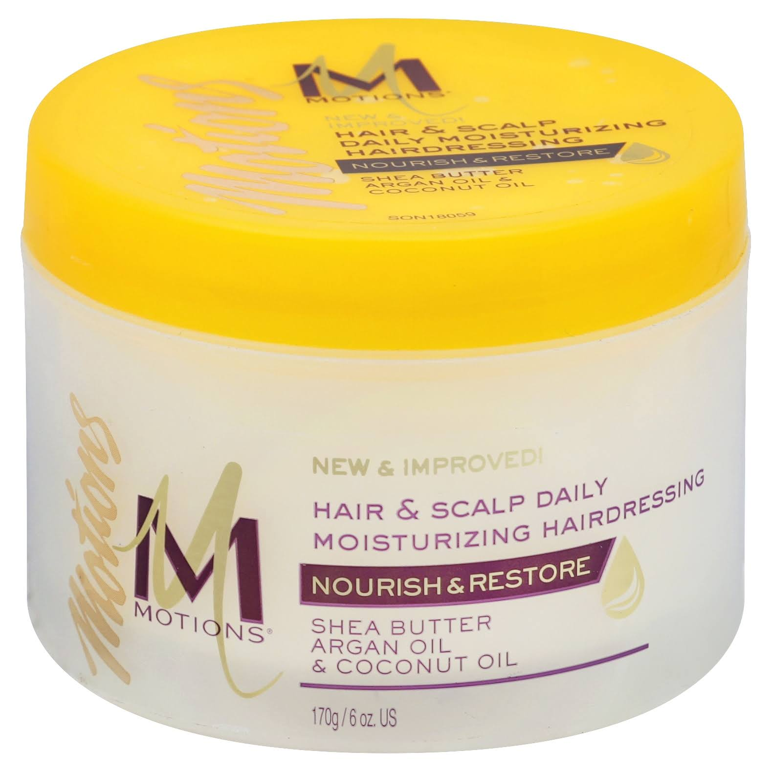Motions Hair and Scalp Daily Moisturizing Hairdressing - 170g