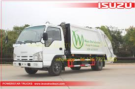100 Types Of Garbage Trucks Urban Rear Loaders Truck Isuzu 14cbm At Price Concessions