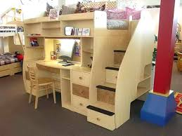 desk bunk bed combo bunk bed with desk underneath and stairs desk