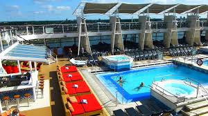 Celebrity Silhouette Deck Plan 6 by Celebrity Silhouette Pooldeck Youtube