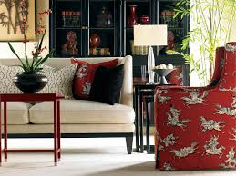 Black Cream Pops of Red Not necessarily this fabric but for