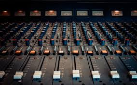 Sound Panel Control Recording Studio
