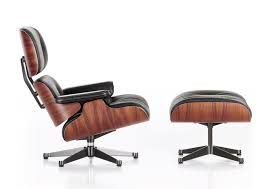 Eames Chairs   Eames Lounge Chair With Ottoman - FurnishPlus