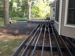 Sturdi Built Sheds Rochester Ny by Light Gauge Steel Custom Curved Trex Elevations Frame Decks
