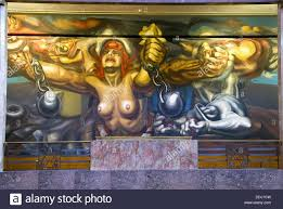 David Alfaro Siqueiros Famous Murals by 1974 Building Stock Photos U0026 1974 Building Stock Images Alamy