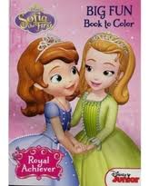 Disney Princess Sofia The First Royal Achiever Coloring Activity Book Delight Your