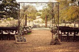 Vintage Style Wedding Outdoor Rustic Ceremony