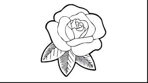 Rose Coloring Pages Printable Free Amy Drawing Page Roses Hearts Colouring