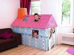 building a cardboard playhouse timelapse youtube