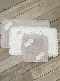 badematte badezimmerteppich blanc mariclo in 2 farben und 2 grössen