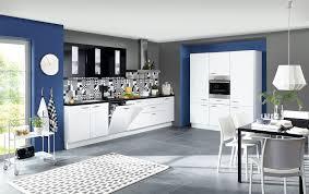 2 zeilen küche in alpinweiß mattlack hängeschränke in